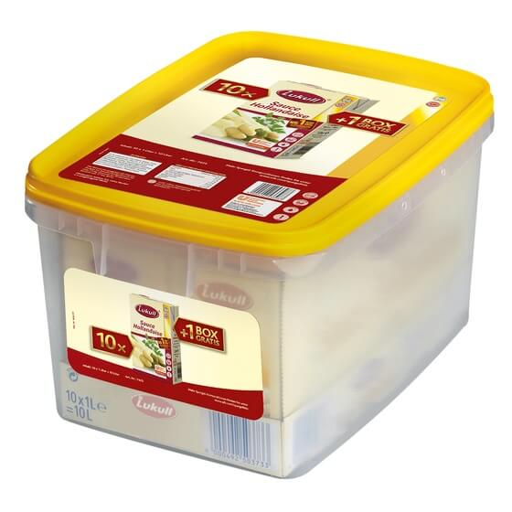 Sauce Hollandaise 10 x 1 ltr.in Frische-Box ODZ Lukull