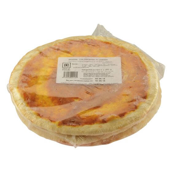 Pizzaböden Italia mit Sauce TK 3x250g Point of Food