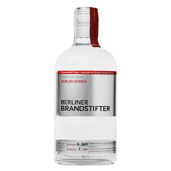 Vodka Brandstifter 43,3% 0,7Liter