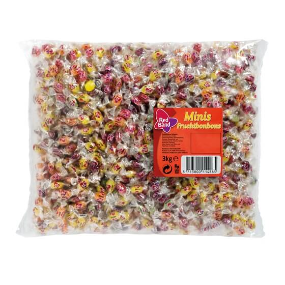 Red Band Fruchtbonbons Minis 3kg