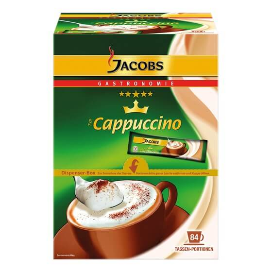 Cappuccino 84 x 11 g Jacobs