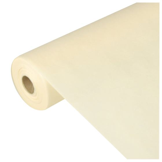 "Tischdecke soft selection ""creme"" Vlies Rolle 40x1,18m PS"