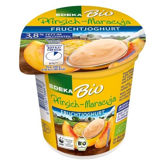 Bio Fruchtjoghurt Kirscheerdbeerpfirsichsaison 150g Edeka