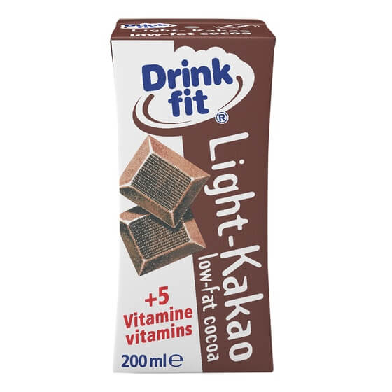 Drinkfit Light Kakao 0,1% 200ml