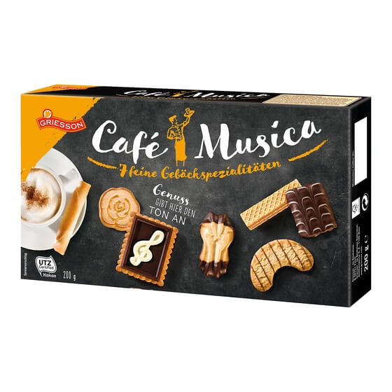 Cafe Musica 10x200g Griesson