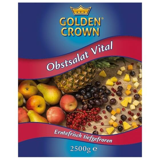 Obstsalat Vital TK 2,5Kg Golden Crown