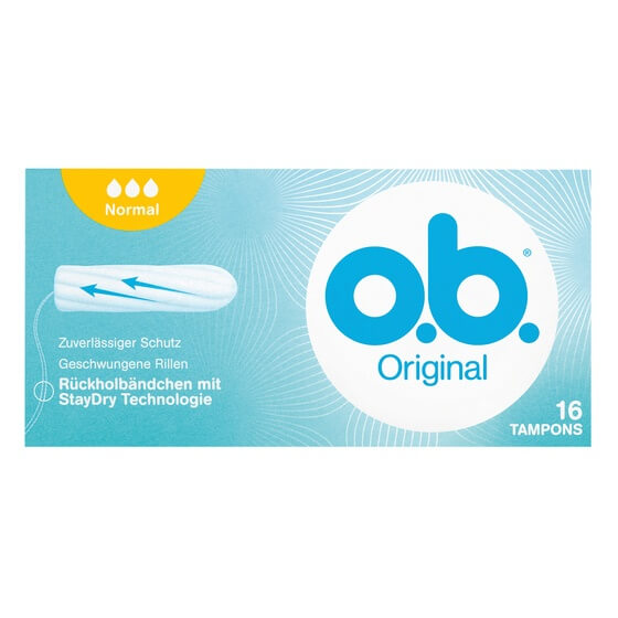 Tampons Normal 16St OB
