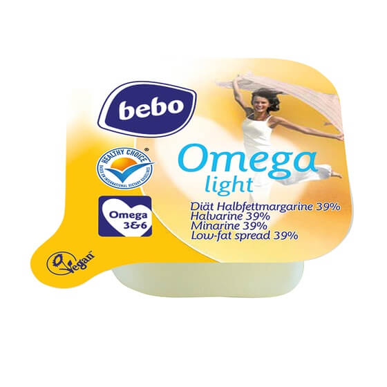 Omega Light 39% Margarine Portionen 400x10g ZBE Bebo